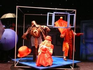 czerwony kapturek w teatrze lalek
